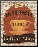 Wonderful Coffee Shop Reproduction montée par Avery Tillmon