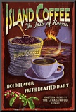 Island Coffee - Vintage Sign