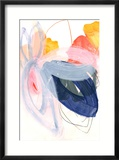 Abstract Painting XVII Reproduction encadrée par Iris Lehnhardt
