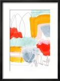 Abstract Painting XVI Reproduction encadrée par Iris Lehnhardt