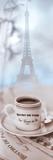 Bistro de Paris 2 Papier Photo par Alan Blaustein