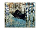 Le Grand Canal  Venise (Venise bleu)