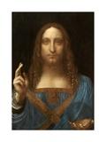 Salvator Mundi Reproduction d'art par Leonardo Da Vinci
