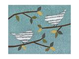Aqua Songbirds II