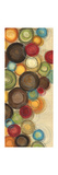 Wednesday Whimsy II - mini - Abstract Colorful Circles Giclée premium par Jeni Lee