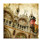 San Marco Square -Artwork In Painting Style