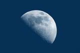 Quartier de lune Papier Photo par Oriontrail2