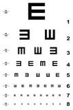 Eye Test Chart Giclée premium par Oriontrail2