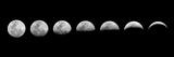 Change of Moon Phases Papier Photo par Oriontrail2