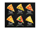 Pizza Chalk Set