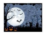 Halloween Illustration Giclée premium par Losw