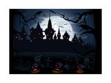 Nuit d'Halloween Giclée premium par Losw