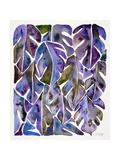 Purple Philodendron Reproduction d'art par Cat Coquillette