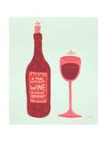 Vin Reproduction d'art par Cat Coquillette