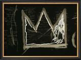 Tuxedo, 1982-83(detail) Reproduction giclée encadrée par Jean-Michel Basquiat