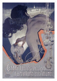 Cesare Urtis-Electric Giclée par Adolfo Hohenstein
