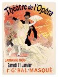 Théâtre de l'Opéra Giclée par Jules Chéret