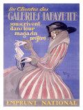 Galeries Lafayette Giclée par Jean-Gabriel Domergue