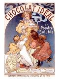 Chocolat Idéal Giclée par Alphonse Mucha