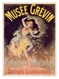 Musée Grévin, Palais des Mirages Giclée par Jules Chéret
