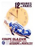 12 Heures de Paris  Coupe Olazur