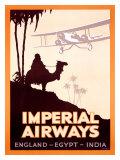 Imperial Airways  England-Egypt-India