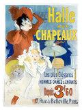 Halle aux Chapeaux, Depuis 3F60 Giclée par Jules Chéret