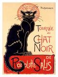 Tournée du Chat Noir Giclée par Théophile Alexandre Steinlen