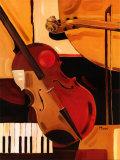 Abstract Violin