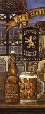 Bière allemande Reproduction d'art par Charlene Audrey