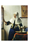 Young Dutch Woman with a Water Pitcher