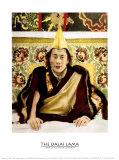 Le dalaï-lama Reproduction d'art