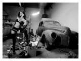 Pin-Up Girl: Rat Rod Blow Torch