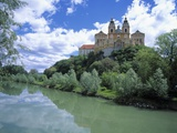 Melk Abbey and Danube