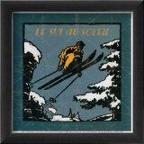 Le ski au soleil I
