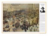 The Impressionists - Camile Pissarro - Boulevard des Italiens
