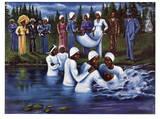 Le Baptême Reproduction d'art par Don Reasor