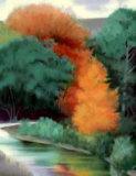 Autumn Medley Reproduction pour collectionneurs par Robert Striffolino