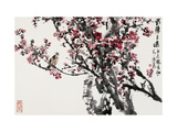 Plum Blossoms and Singing Bird