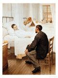 Visiting Day at the Hospital  1889