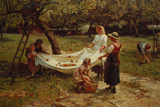The Apple Gatherers  1880