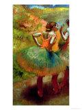 Dancers Wearing Green Skirts  circa 1895