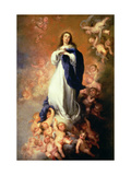 Immaculate Conception of the Escorial  circa 1678