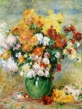 Bouquet of Chrysanthemums  circa 1884