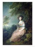 Mrs Richard Brinsley Sheridan  circa 1785-6
