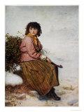 The Mistletoe Gatherer  1894