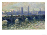 Waterloo Bridge  1902