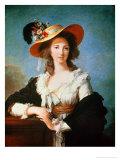 Portrait of the Duchess of Polignac (circa 1749-93)