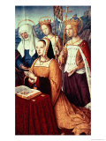 Anne of Brittany with St Anne  St Ursula and St Helen