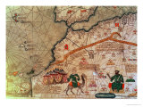Detail from the Catalan Atlas  1375